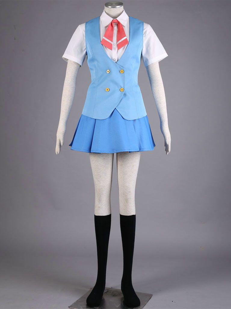 Acchi Kocchi cosplay Miniwa Tsumiki yaz üniforma cosplay cadılar bayramı Kostümleri