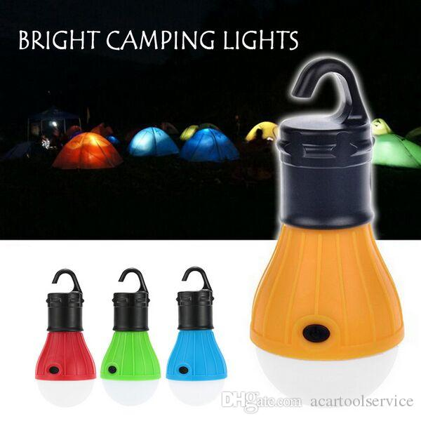 Soft Light Outdoor Hanging LED Camping Tent Light Bulb Fishing Lantern Lamp Emergency Camping Tent Lamp LED Bulb Portable Lanterns