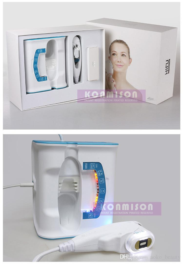Hifu Yüz Germe Makinesi Için Yüksek Yoğunluklu Odaklı Ultrason Hifu Makinesi Kırışıklık Kaldırma Cilt Sıkma Ev Kullanımı