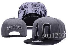 SHOHOKU SLAM DUNK N0.10 Neymar JR njr Berretti da baseball neri hip hop Sport Snapback berretto da cappellino chapeu WU-TANG cappelli per Uomo Donna