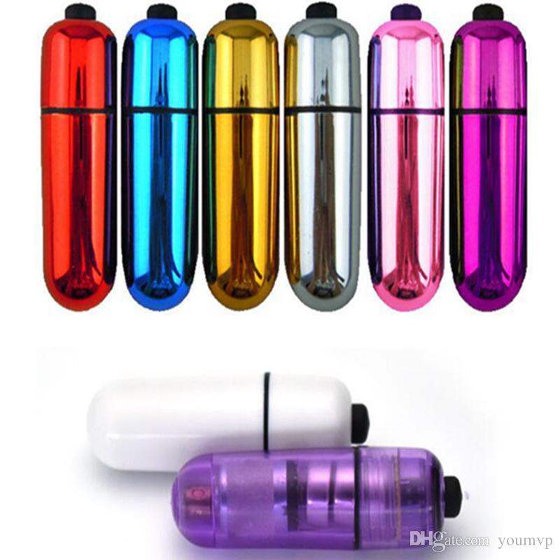 진동 총알 계란 섹스 토이 진동기 여성 자위 섹시한 제품 진동 총알 여성을위한 7 색 진동기