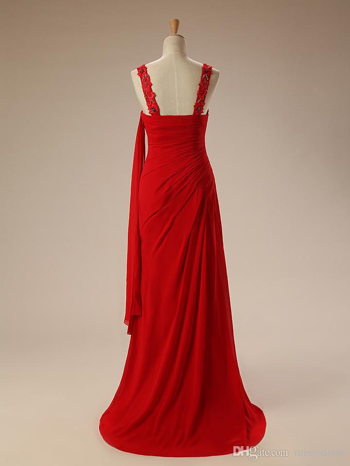 Langes hochzeit rotes kleid Rotes Kleid