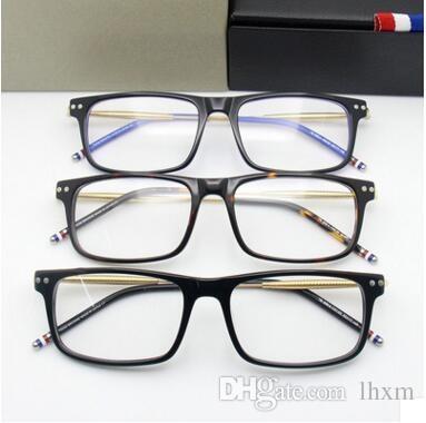 I nuovi occhiali tb908 full frame da uomo con montatura a vista possono essere equipaggiati con montatura ultra leggera miopia