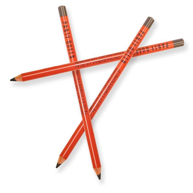 الحزب الجديد الملكة الفنية قلم الحواجب الظلام الطبيعية براون الرماد رمادي 3 ألوان الشحن مجانا
