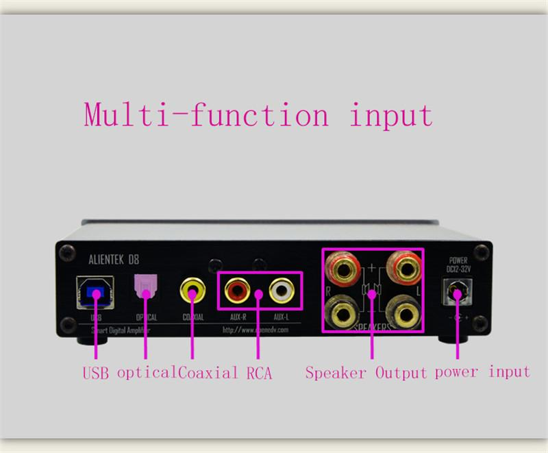 XMOS-ALIENTEK-D8-80W-2-Mini-Hifi-Stereo-Audio-Digital-Headphone-Amplifier-Coaxial-Optical-USB-DAC (2)