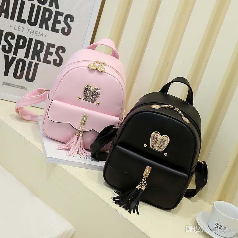 Cheap Fashion Children Bags Backpacks Pu Leather Cartoon School ...