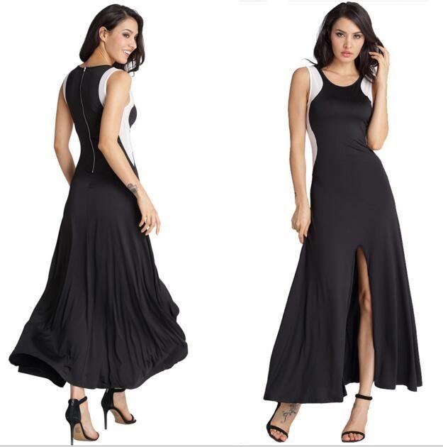 Women's Dresses Slim Mini Dress Euramerican Style Sexy Sleeveless splicing net yarn evening dress free shipping