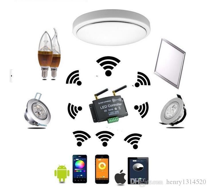 Spedizione gratuita DHL 36w 600x600mm Colore variabile (2700-6500K) e pannello LED dimmerabile con telecomando 2.4G Aluminium + PMMA