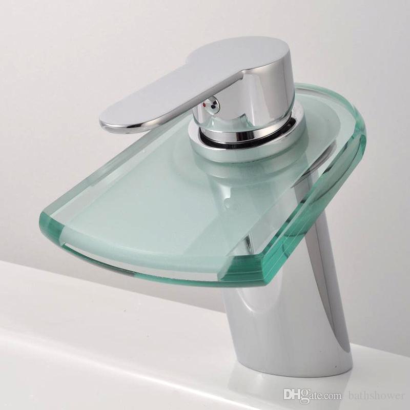 Wholesale Led Faucet Light Hotel Bathroom Taps Temperature Control ...