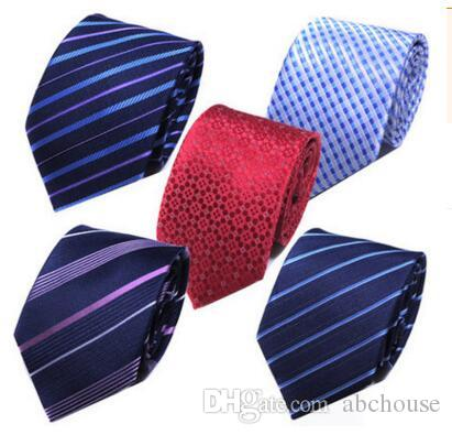 Mode Silk Necktie Herren Kleid Krawatte Hochzeit Business Knoten Festes Kleid Krawatte Für Männer Krawatten Handgemachte Hochzeit Krawatten Zubehör Freies Verschiffen