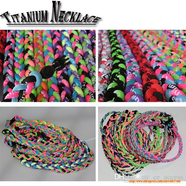 tornado halsband titan halsband, kinesiskt rep halsband 3 repar flätade halsband