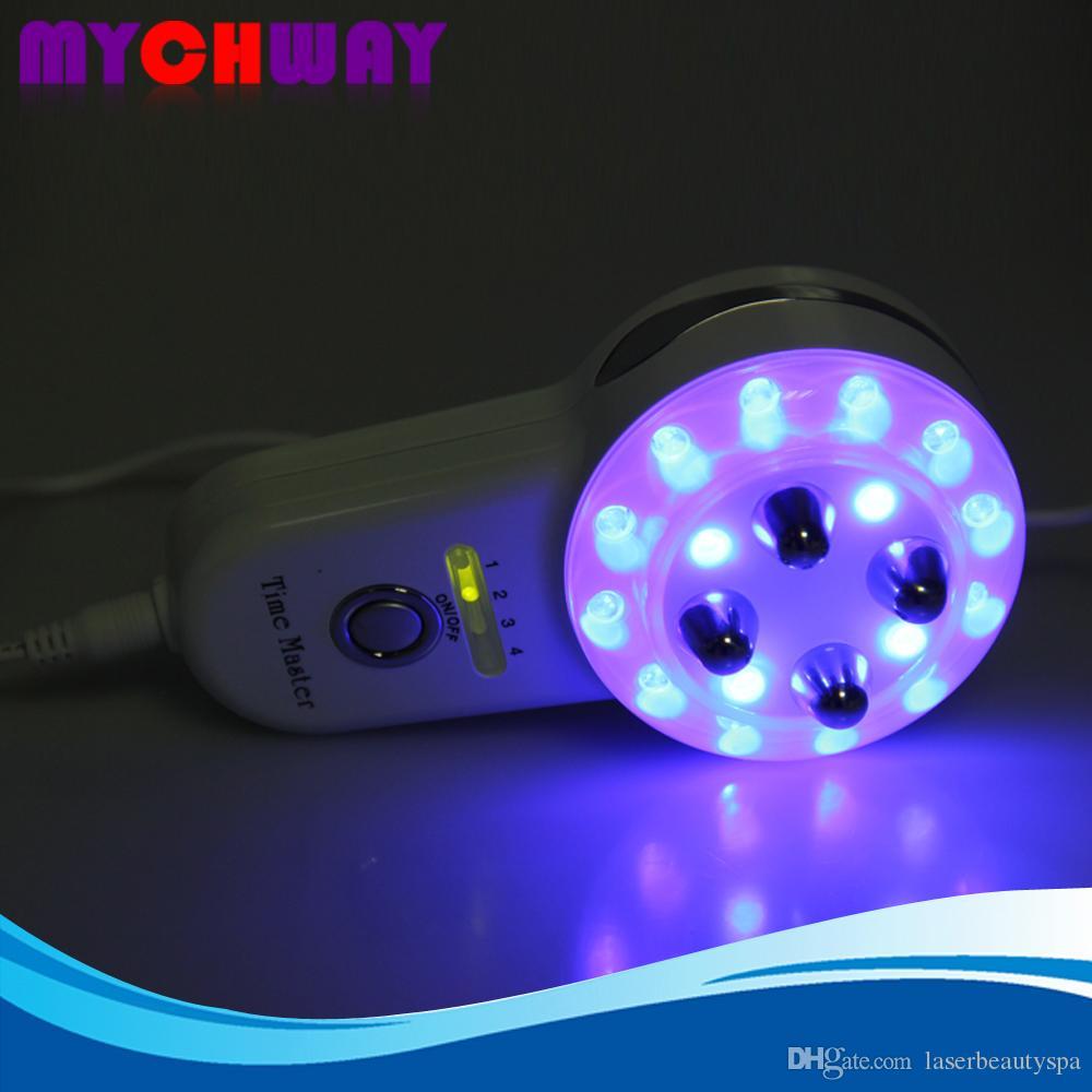 Sıcak Seyahat Kullanımı Cilt Gevşeme Vücut Şekli Detoksifikasyon 5in1 Mezoporasyon + LED Foton + Elektroporasyon + BIO Mikro Akım + RF Radyon Frekans