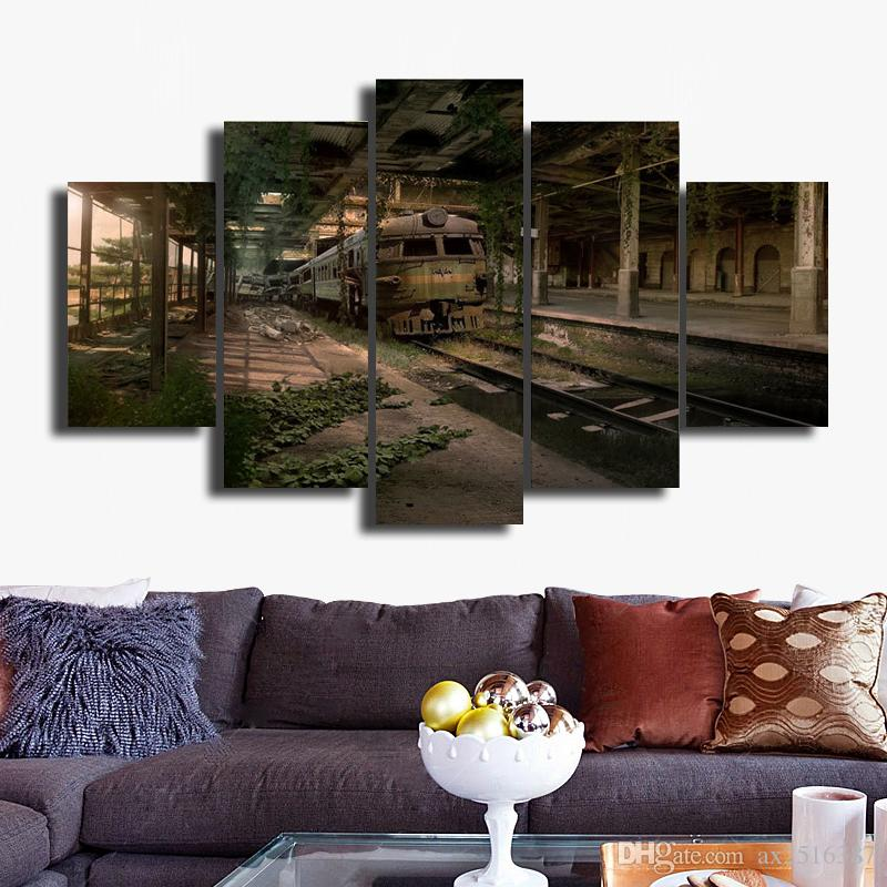 5p modern Home Furnishing HD picture Canvas Print art wall of the sitting room children room decoration theme -- Beautiful picture#037