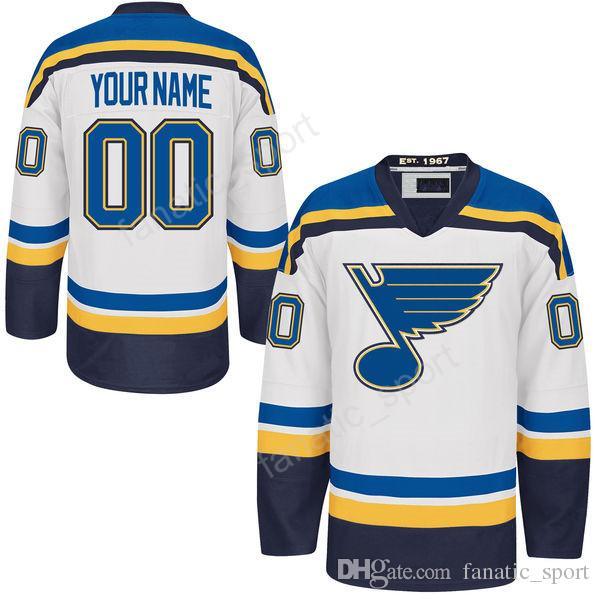 5cb0aa66d65 ... NHL Jersey St. St. Louis Blues 55 Colton Parayko Jersey Custom 40  Carter Hutton 34 Jake Allen Ice ...