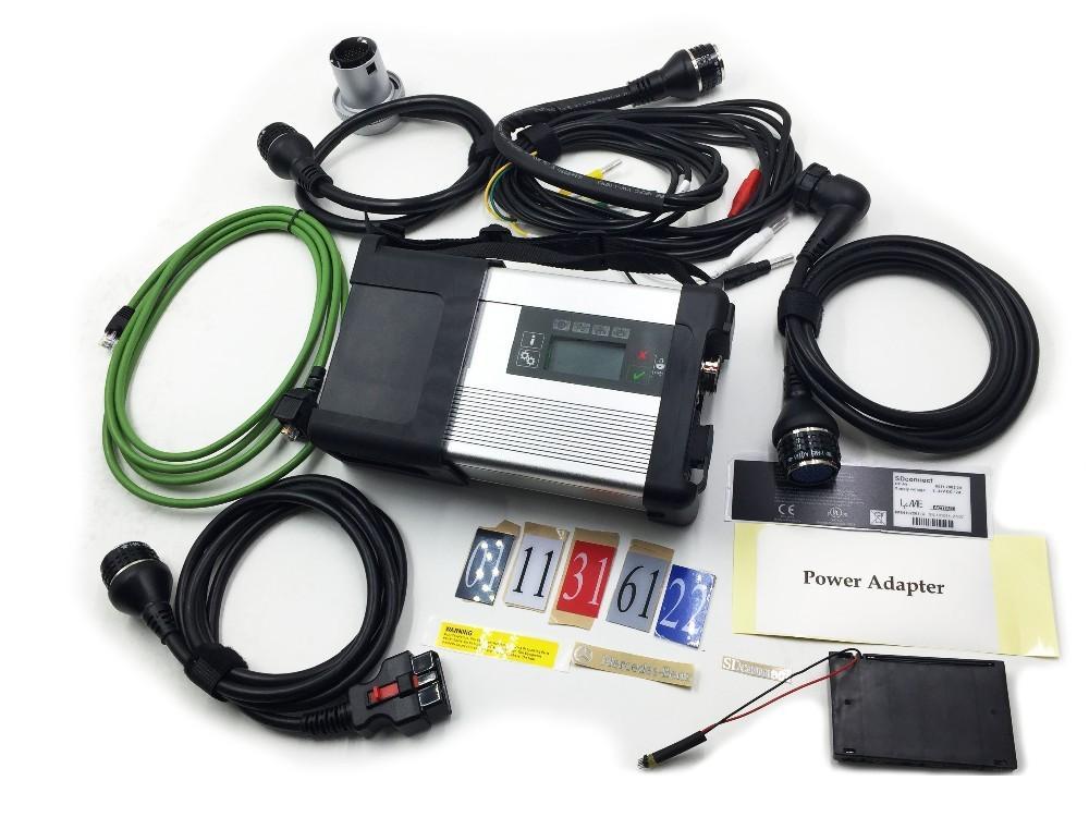 Super MB STAR C5 SD Connectez-vous pour MB Diagnostic Tool MB SD Connect C5 pour le diagnostic de camion de voiture En stock