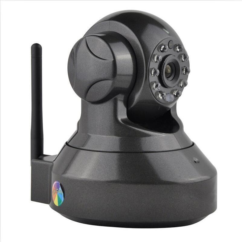 Seguridad para el hogar Mini cámara IP inalámbrica Cámara de vigilancia Wifi 720P Visión nocturna Cámara CCTV Monitor de bebé