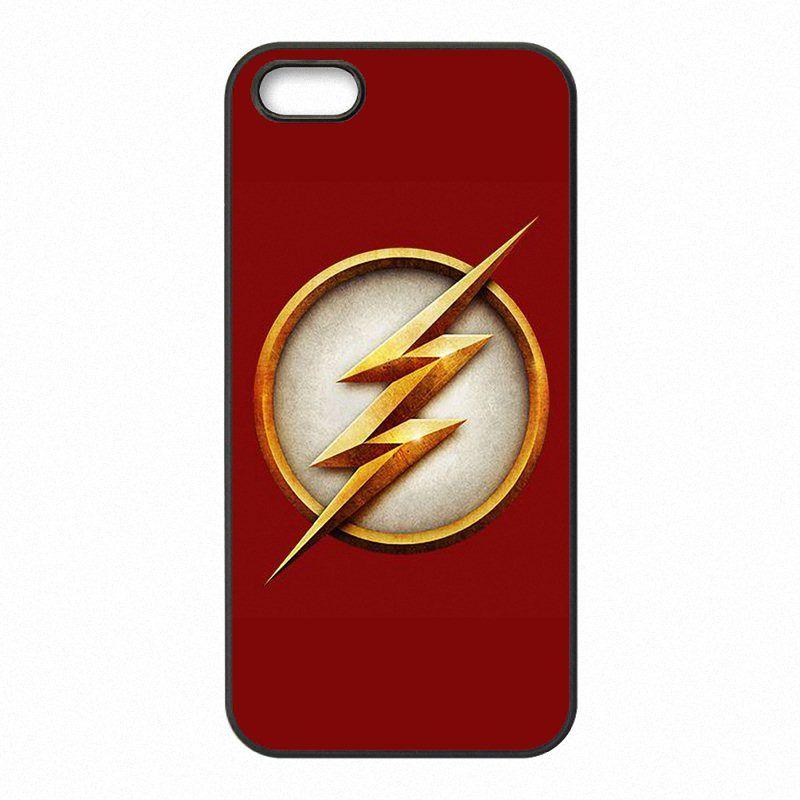Le Téléphone Flash DC Comics Couvre Les Coques Coques En Plastique Dur Pour IPhone 4 4S 5 5S SE 5C 6 6S 7 Plus Ipod Touch 4 5 6 Proposé Par ...