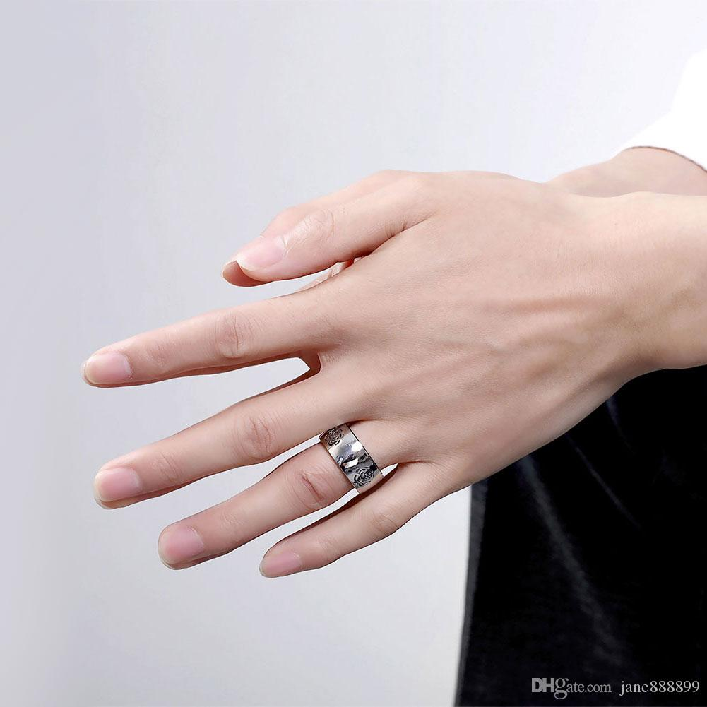 Stainless Steel ring top quality anchor biker men Ring hot sale ...