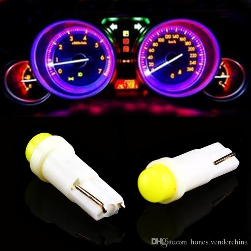 Led Lights For Cars >> T5 W1 2w W3w 509t Car Interior Led Light Auto Wedge Gauge Dashboard Gauge Instrument Lamp Bulb 12v White Blue Red Green Yellow Best Automotive Led