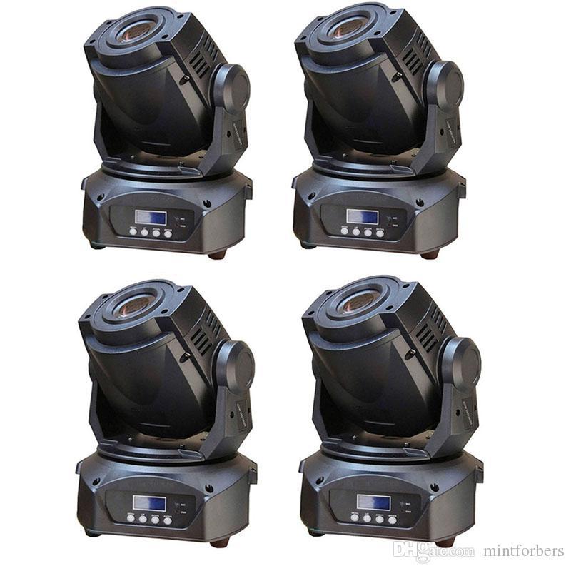 4PCS / LOT DJ LED Moving Head Spot Light 90W White LED DJ Stage Lighting DMX 14 kanaler