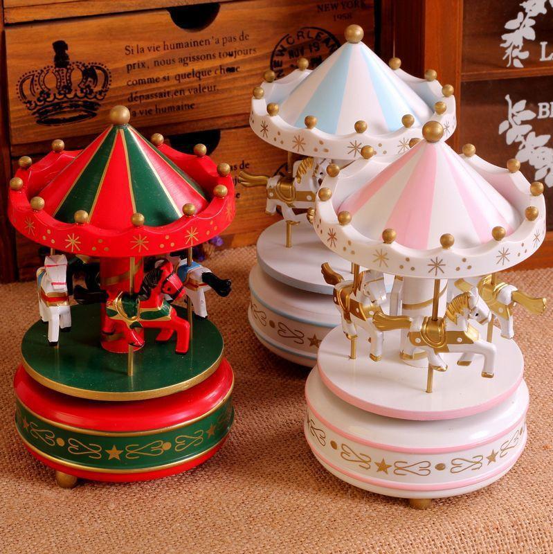 B çerçevesi içine belirtilen atlıkarınca müzik kutusu müzik kutusu hediye 8 modelleri