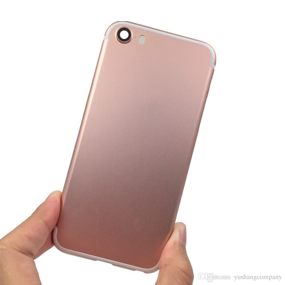 ful Back Cover Housing For Iphone Se Like 7 Aluminum Metal Back ...