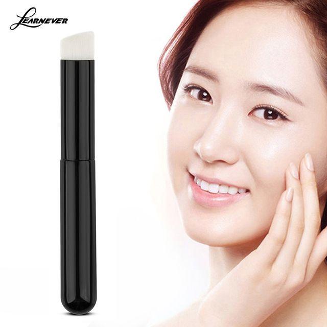 Maquiagem cosméticos Oval escova compo Face Powder Blush por Mulheres