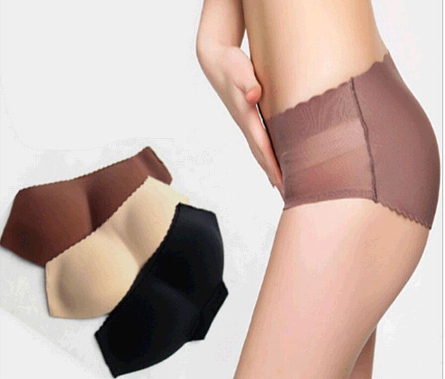 새로운 도매 - 섹시한 숙녀 Curvaceous Underpant 여자 패딩 엉덩이 패딩 패션 소녀 리프트 향상된 엉덩이 패드 팬티 S M L XL