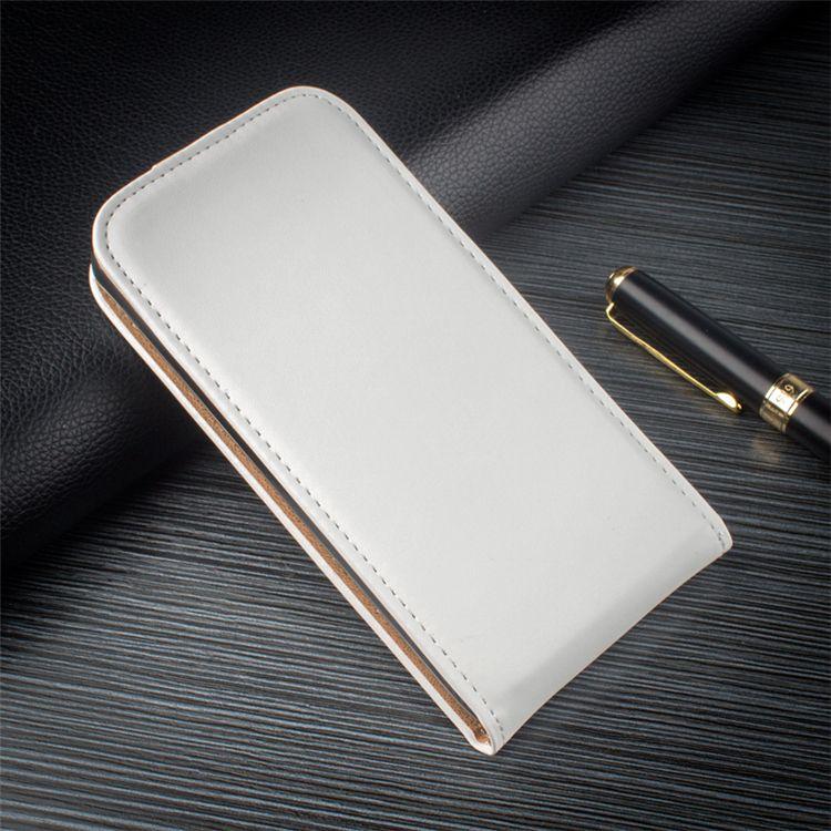 Custodia in pelle protettiva UP e Down Custodia in pelle Flip verticale per Sony Xperia Z3