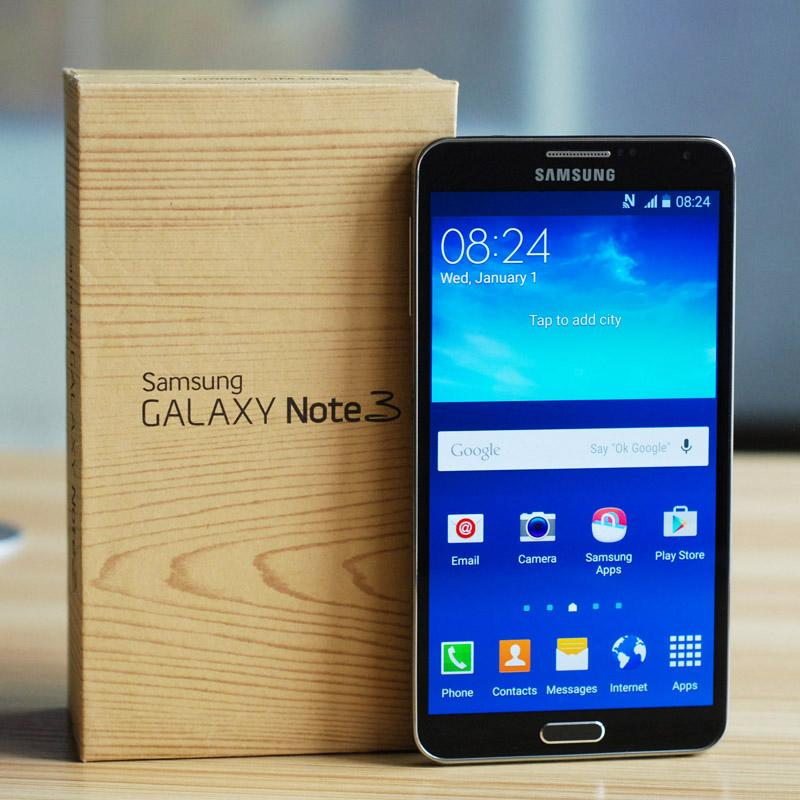 Yenilenmiş Samsung Galaxy Not 3 N9005 16G 32G 4G LTE N9006 3G Wcdma 5.7 inç Dört Çekirdekli Orijinal NOTE3