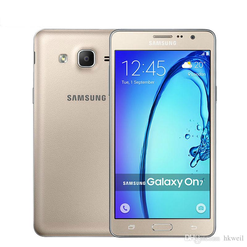 Refurbished Samsung Galaxy On7 G6000 Cell Phone Quad Core 5.5Inch 1280*720 Screen Dual Sim 16G/8G ROM 13.0MP