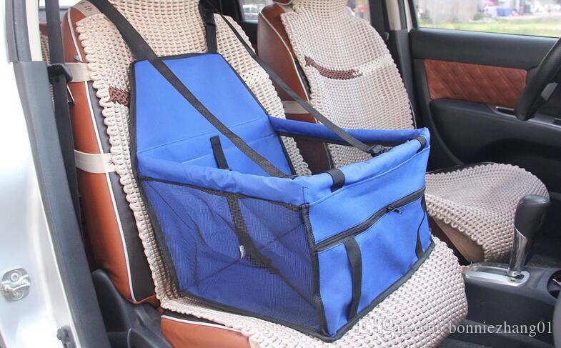 مقعد للماء أكسفورد القماش كلب السيارات السفر حصيرة للطي قابل للغسل الأرجوحة السيارة غطاء وسادة مع حزام 100PCS