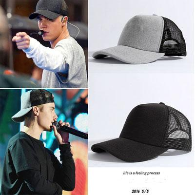 new justinbieber solid embroidery baseball cap fashion boost 350 hip hop  Bending brimmed hat Outdoor breathable 2c2e9d259aa7