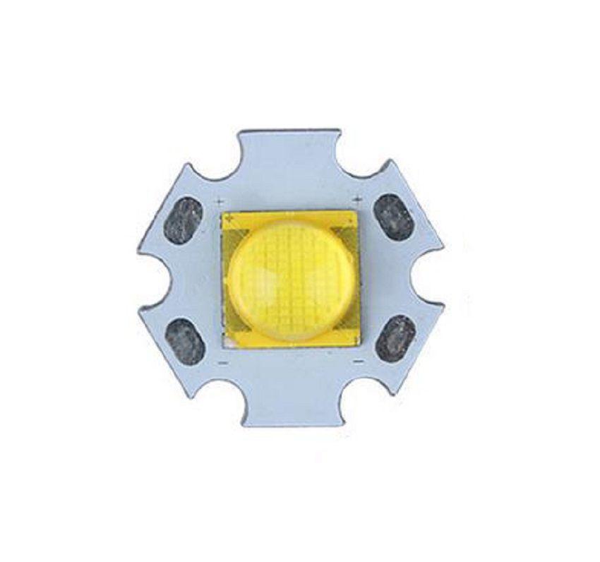 Torcia elettrica LED fai da te Emettitore CREE MT-G2 5000-6500K LED con ventola da 20 mm Base in alluminio cree MTG2 LED Star (6V)