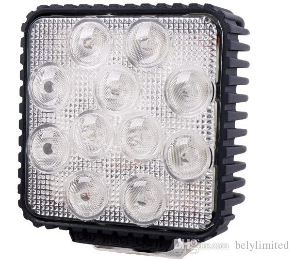 4INCH 55W LED WORK light 12V OFF ROAD 4X4 tractor TRUCK 24V MOTORCYCLE ATV offroad fog lamp 55W LED Working DRIVING LIGHT bulbs