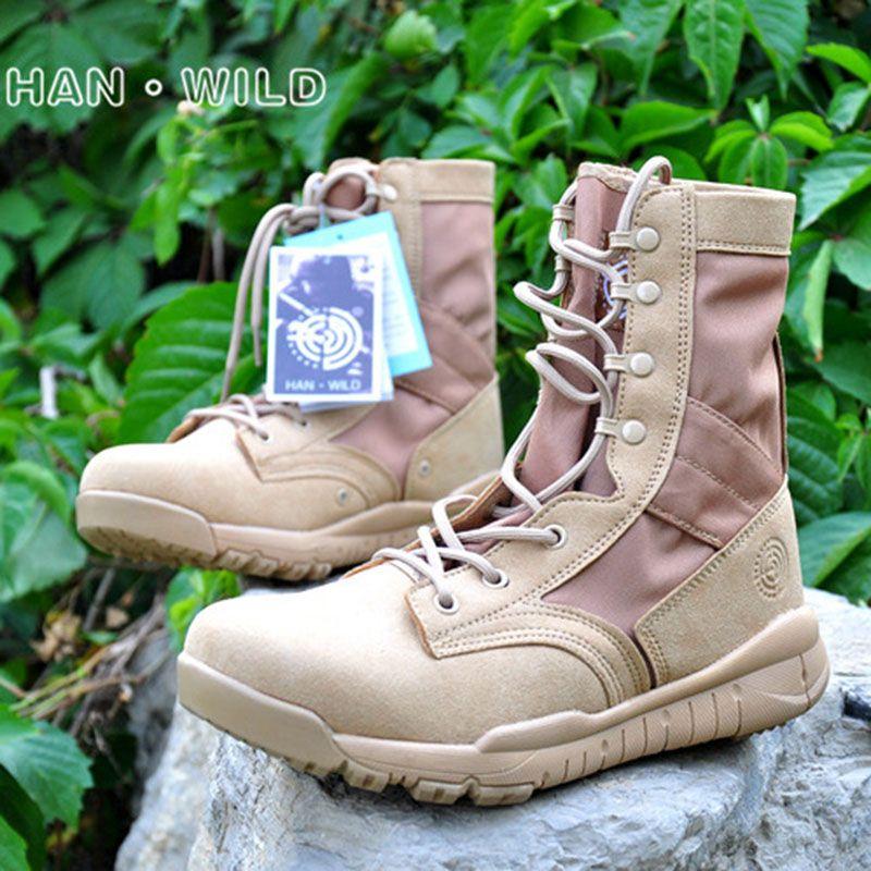 Großhandel Tactical Boots Leichte Kampf Outdoor Dschungelstiefel Military Desert Outdoor Schuhe Wasserdicht Atmungsaktiv Tragbare Stiefel Wandern