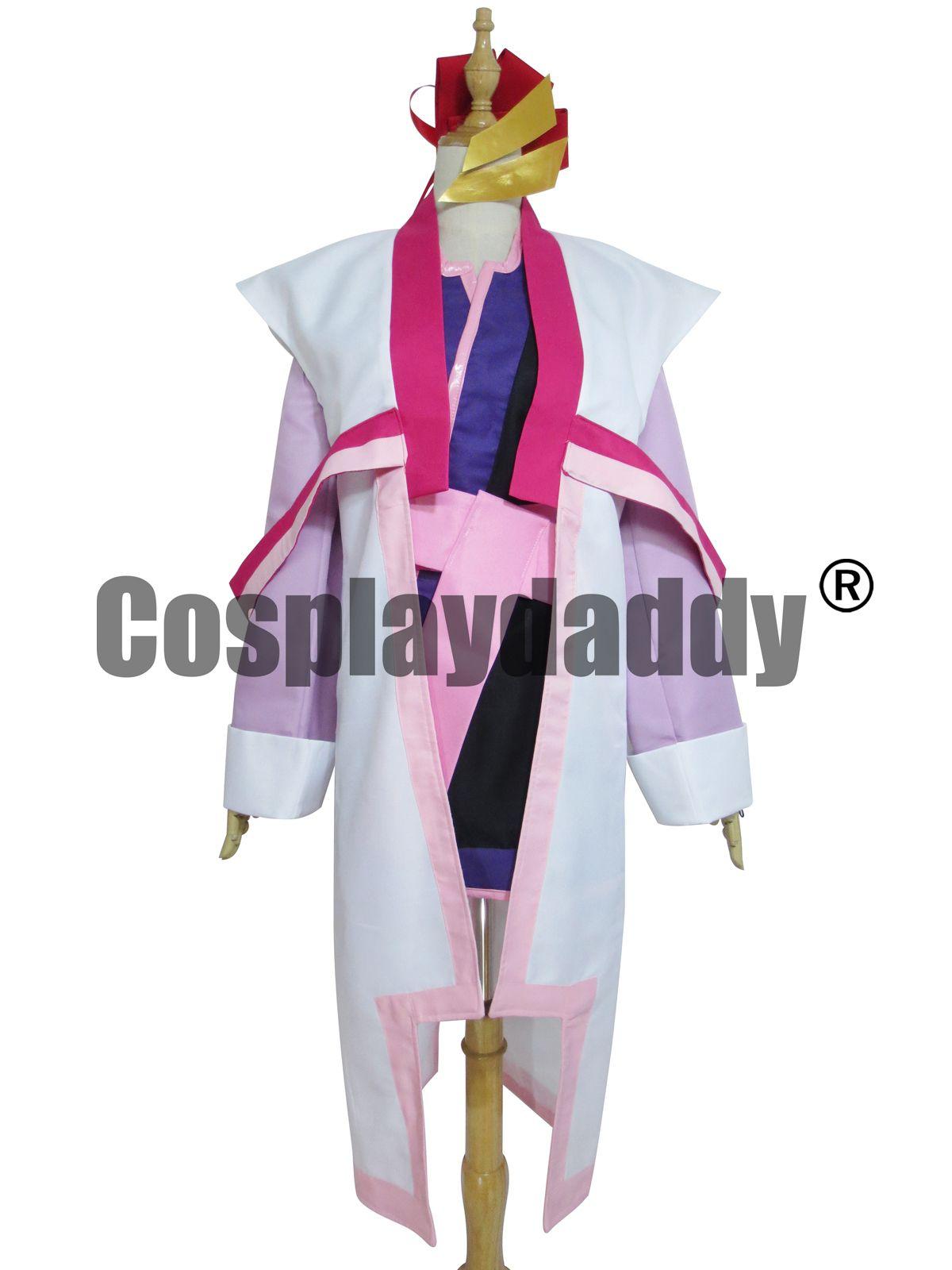 hot!Lacus Clyne Cosplay Costume Custom Made