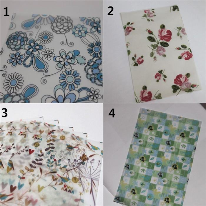 Party Decoration Gift Wrap Papers Handmade Soap Wrapping Packaging Papers Greeseproof Wax Papers