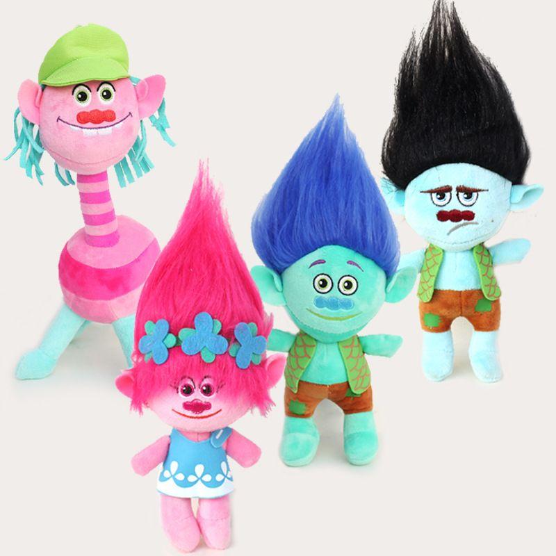 The new dreamworks is tangled blue elves bobby cloth trolls plush toys Spot supply hot