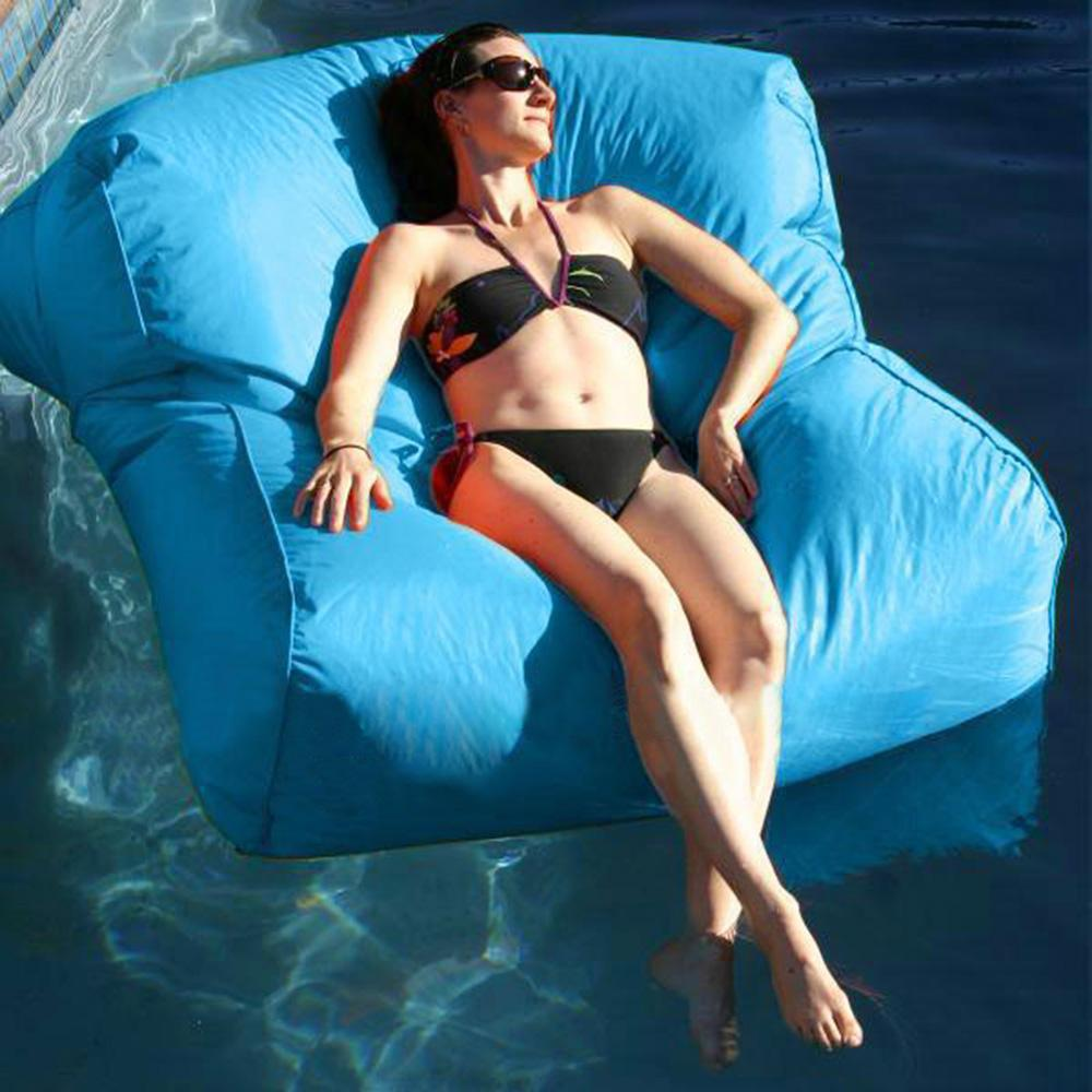 Tremendous 2019 Float Beanbag Pool Floating Bean Bag Outdoor Furniture Sofa Oversized Luxury Comfortably Accommodate Two Adults Cover Only No Filler From Unemploymentrelief Wooden Chair Designs For Living Room Unemploymentrelieforg