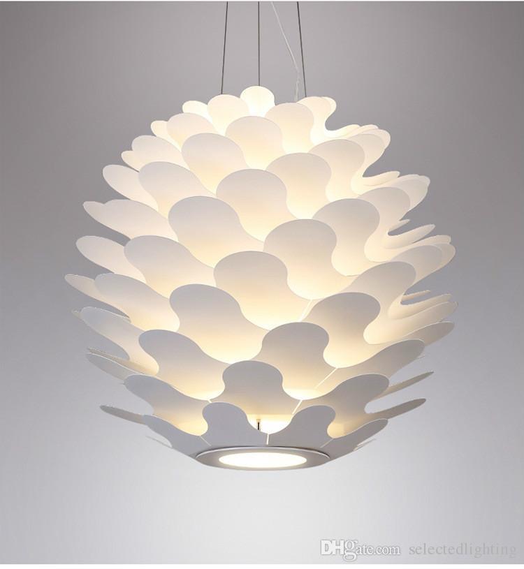 Acquista Moderna Libera Spirale Grande Lampadario LED Lampada A Sospensione  Camera Da Letto Lampada Da Salotto Ufficio Illuminazione A Sospensione A ...