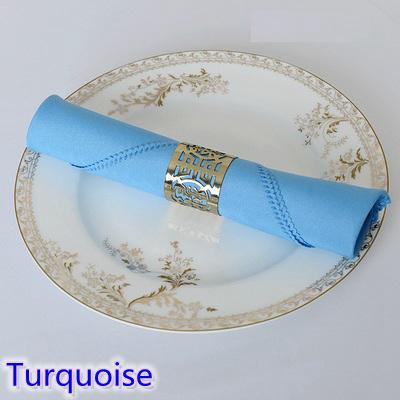 Pour Polyester Couleur Table Turquoise Uni Taches Serviette De Fête En Anti Acheter Décoration Restaurant Table De Serviette Hôtel Mariage De LA5j34Rq
