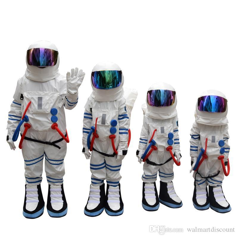Fabbrica diretta vendita Bambino e adulto costume spazio costume mascotte costume astronauta mascotte