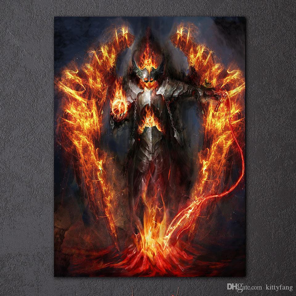 Burning Fantasy Art