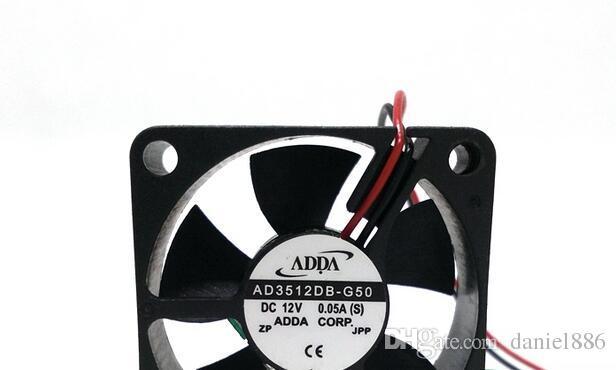 Commercio all'ingrosso: ADDA AD3512DB-G50 0.05A 3.5CM 3510 2 linea ultra silenzioso set-top box ventola di raffreddamento