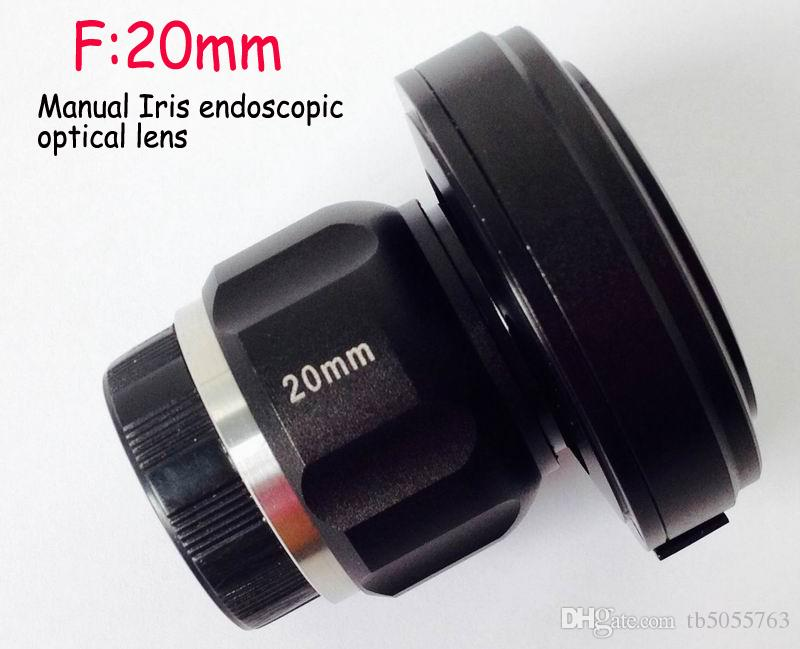 C / CS 20 mm endoscopio médico acoplador óptico 1280x1024 píxeles cámaras de inspección de seguridad del adaptador