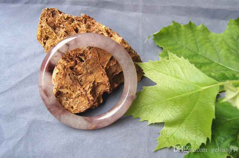Ręcznie robione naturalne polichromatyczne jadered (jadecie kwarzyte) bransoletka ogrodowa, pierwszy wybór piękna