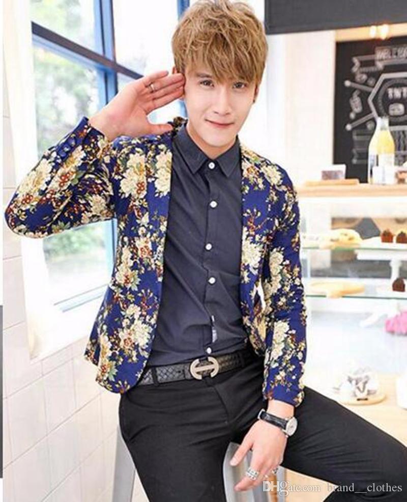 Les hommes en Europe et les États-Unis d'affaires anglais nouvelle boutique de vêtements de mode vestes en coton et lin / M-2XL