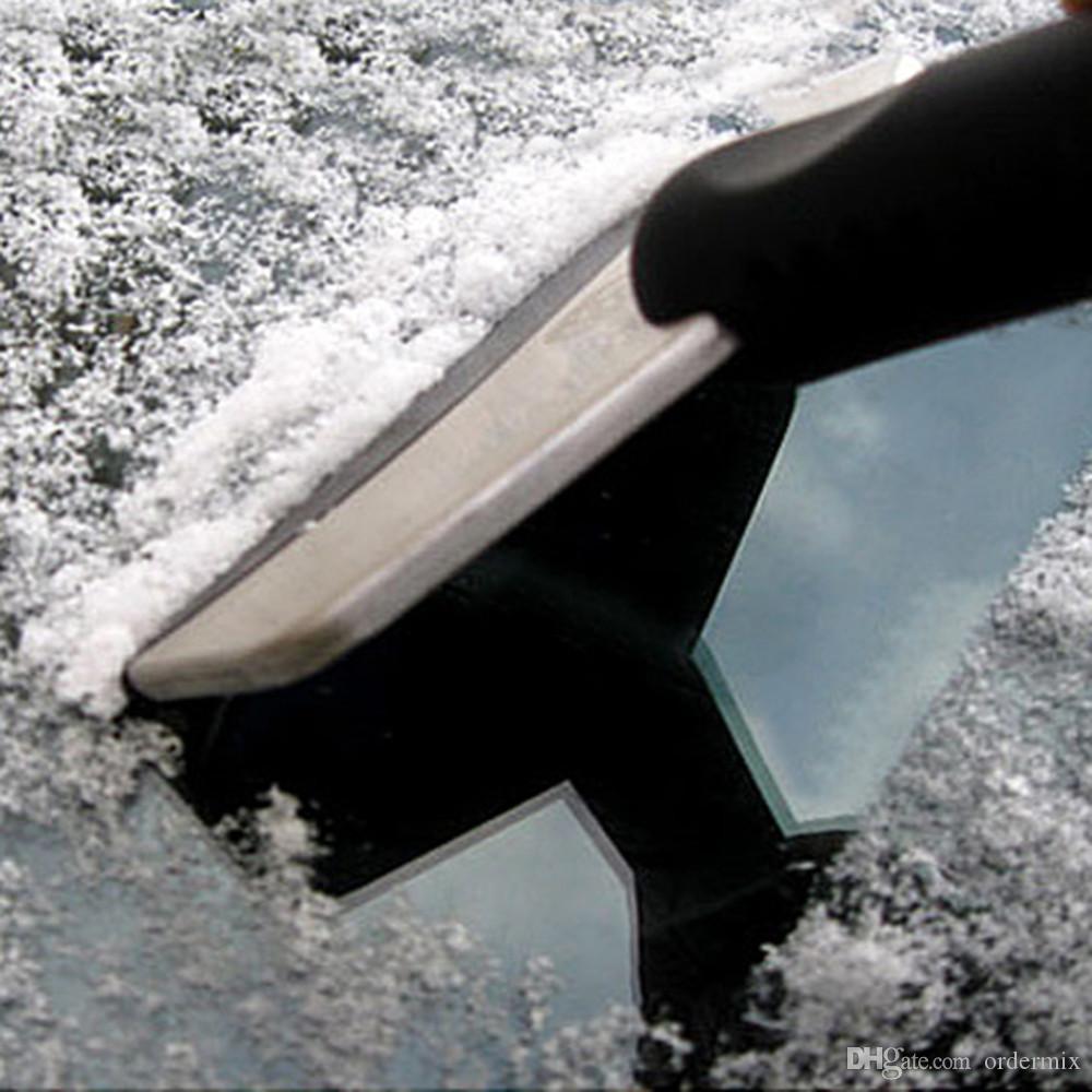 Нержавеющая Снег Лопата Скребок Для Удаления Чистый Инструмент Авто Автомобиль Мода И Полезная Лед Удалить Инструмент