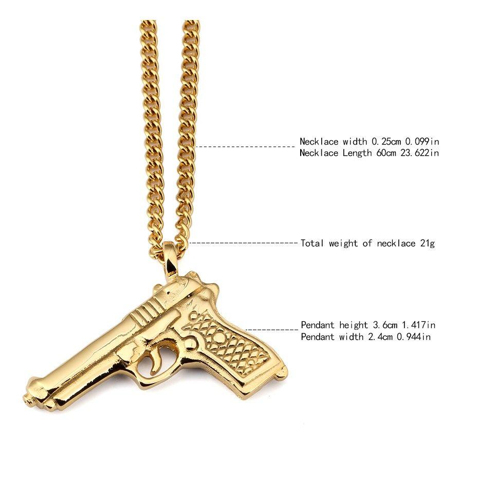 Gun Pendant Necklace_02